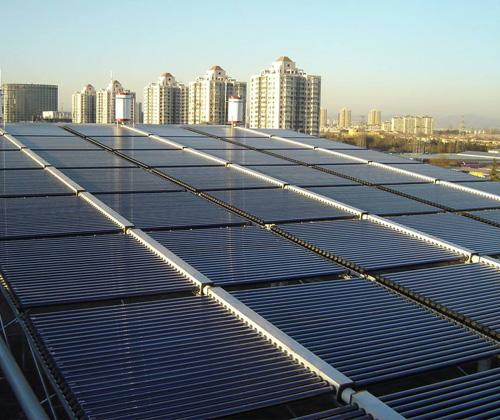 太阳能恒温热水系统