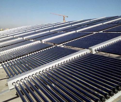 太阳能热水系统与建筑一体化