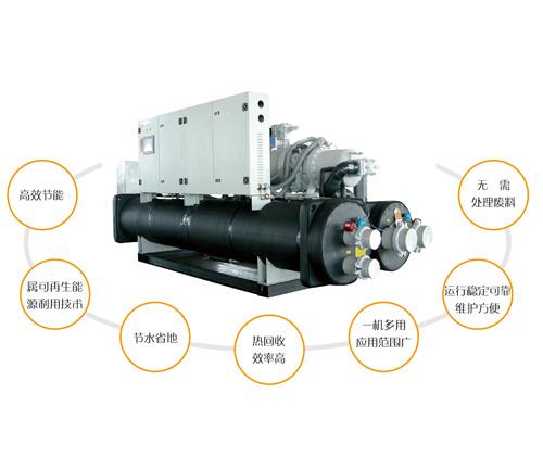 污水源热泵热回收系统