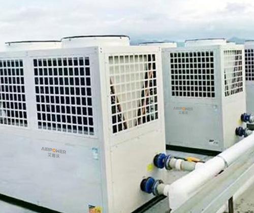 不同场所空气能热水系统的区别